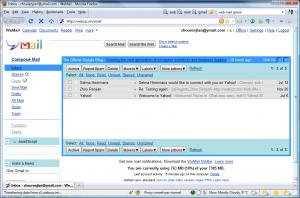 Google mail client